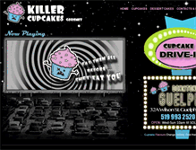 Tablet Preview of killercupcakes.ca